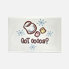 Got Cocoa Rectangle Magnet