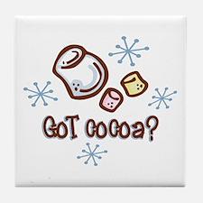 Got Cocoa Tile Coaster