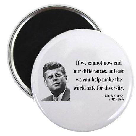 """John F. Kennedy 4 2.25"""" Magnet (100 pack)"""