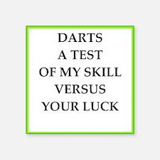 darts joke Sticker