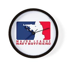 Major League BF 2 - NAVY Wall Clock