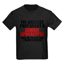 Exciting zombie apocalypse T-Shirt