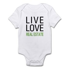 Live Love Real Estate Infant Bodysuit