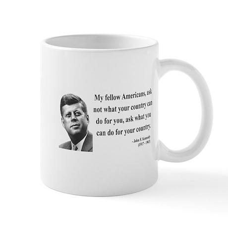 John F. Kennedy 5 Mug