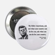 "John F. Kennedy 5 2.25"" Button"