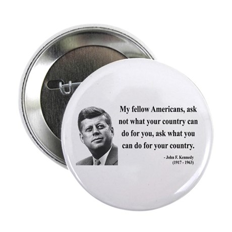"John F. Kennedy 5 2.25"" Button (100 pack)"