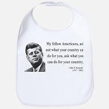 John F. Kennedy 5 Bib