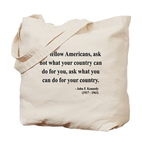 John F. Kennedy 5 Tote Bag