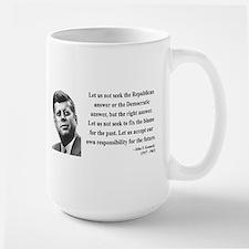 John F. Kennedy 6 Large Mug