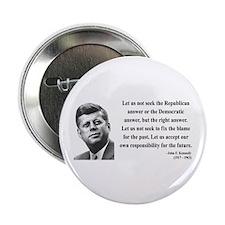 "John F. Kennedy 6 2.25"" Button"