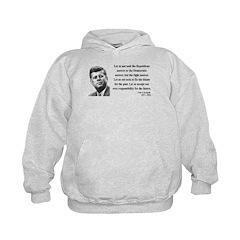 John F. Kennedy 6 Kids Hoodie