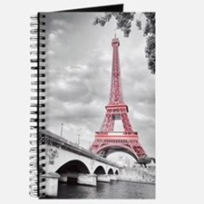 Pink Eiffel Tower Journal