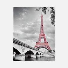 Pink Eiffel Tower Twin Duvet