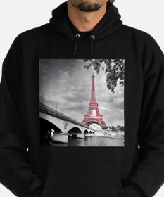 Pink Eiffel Tower Hoody
