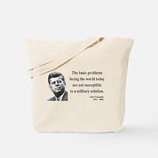 John F. Kennedy 7 Tote Bag
