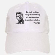 John F. Kennedy 7 Baseball Baseball Cap