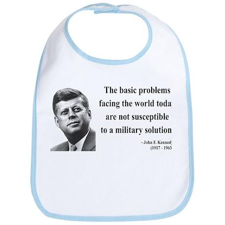 John F. Kennedy 7 Bib