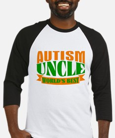 Autism uncle Baseball Jersey
