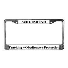 Cute Rottweilers License Plate Frame