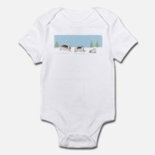 Keesies in the Snow Infant Bodysuit