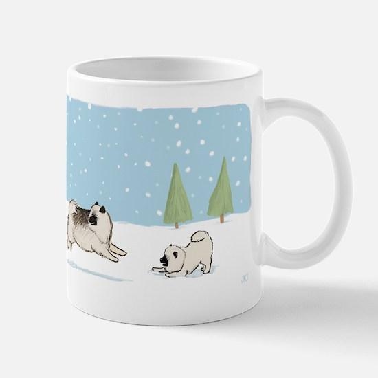 Keesies in the Snow Mug