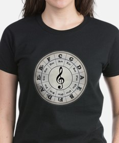 """""""Pearl"""" Circle of Fifths T-Shirt"""