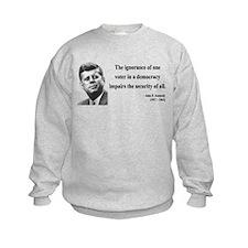 John F. Kennedy 8 Sweatshirt