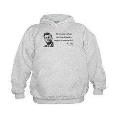 John F. Kennedy 8 Hoodie