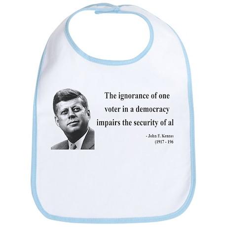 John F. Kennedy 8 Bib