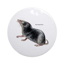 Short-Tailed Shrew Ornament (Round)