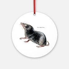 Short-Tailed Shrew Ornament (Round)