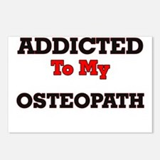 Addicted to my Osteopath Postcards (Package of 8)