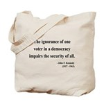 John F. Kennedy 8 Tote Bag