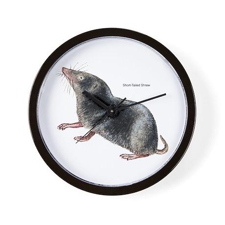 Short-Tailed Shrew Wall Clock