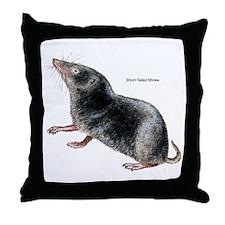 Short-Tailed Shrew Throw Pillow