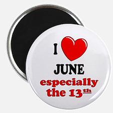 "June 13th 2.25"" Magnet (10 pack)"