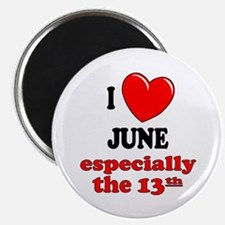 "June 13th 2.25"" Magnet (100 pack)"