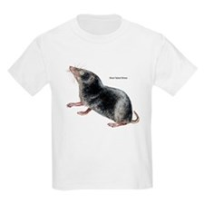 Short-Tailed Shrew (Front) Kids T-Shirt