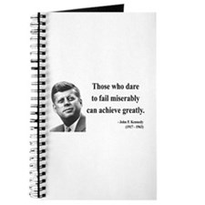 John F. Kennedy 9 Journal