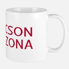 Arizona: Tucson (State Shape & Flag) Mug