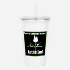 Funeral Services Acrylic Double-Wall Tumbler