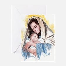 Cool Baby jesus Greeting Card