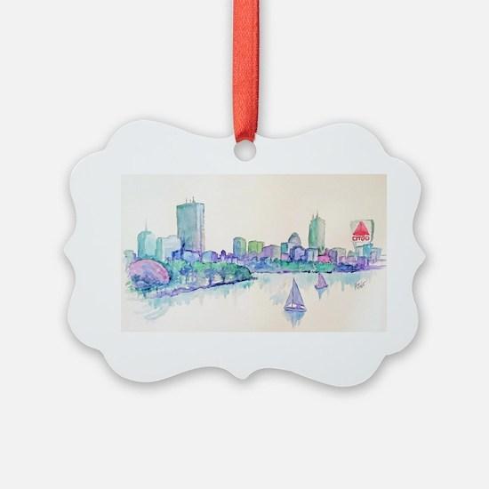 Boston Skyline Ornament
