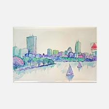 Boston Skyline Magnets