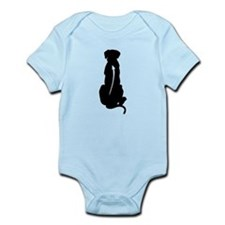 Sitting Ridgeback Infant Bodysuit