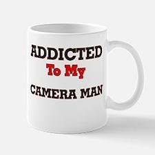 Addicted to my Camera Man Mugs