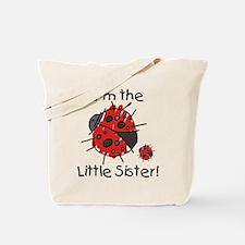 Little Sister Ladybug Tote Bag