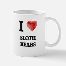 I love Sloth Bears Mugs