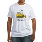 Cat Skinner Fitted T-Shirt