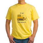 Cat Skinner Yellow T-Shirt